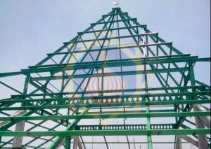 Konstruksi baja sinarsuryaabadi