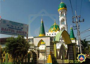 masjid baitul amien karang empat besar surabaya jatim